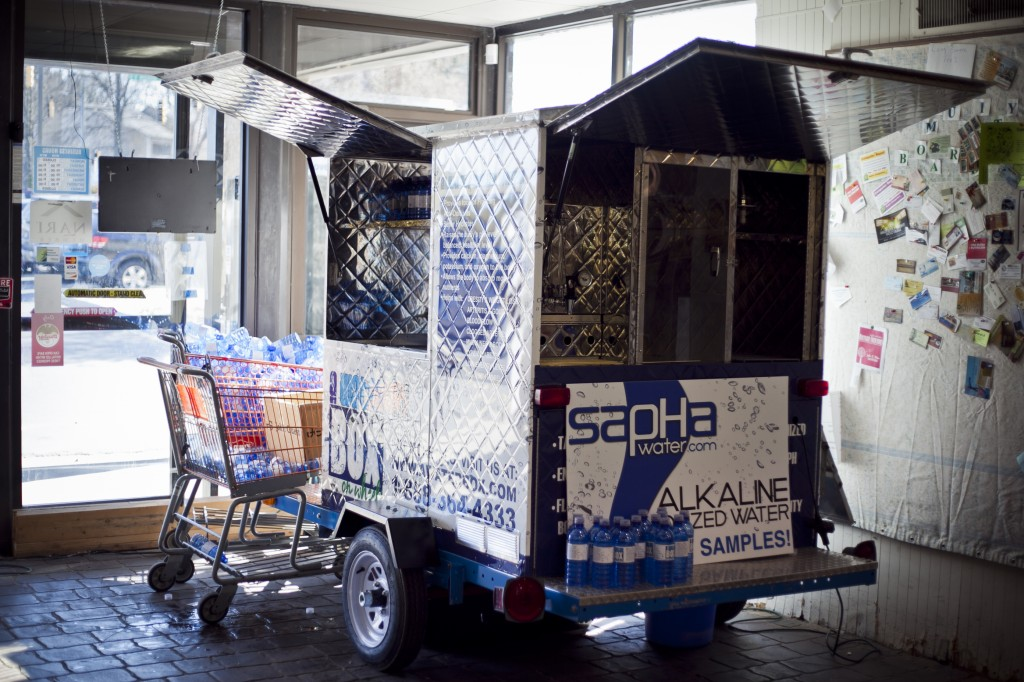 SapHa WaterBox on Wheels